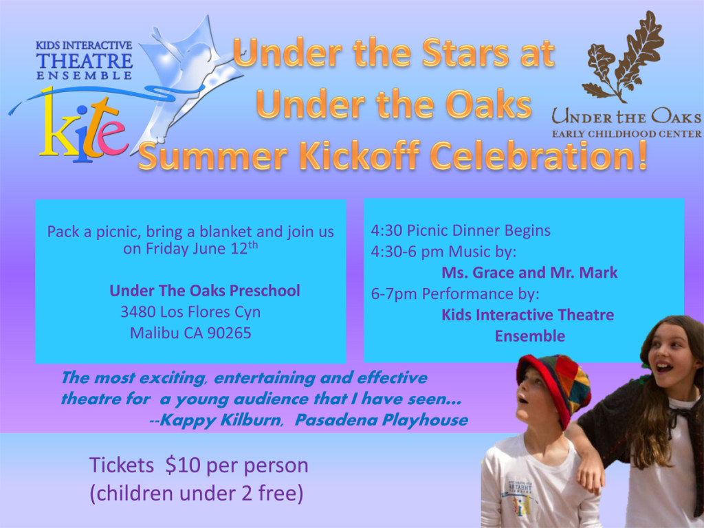 Under the Stars at  Under the Oaks Summer Kickoff Celebration!
